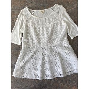 Tiny Anthropologie Blouse Top